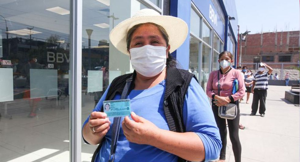 El bono busca beneficiar a cerca de 2.7 millones de hogares que se encuentran en situación de pobreza y pobreza extrema. (Foto: Andina)