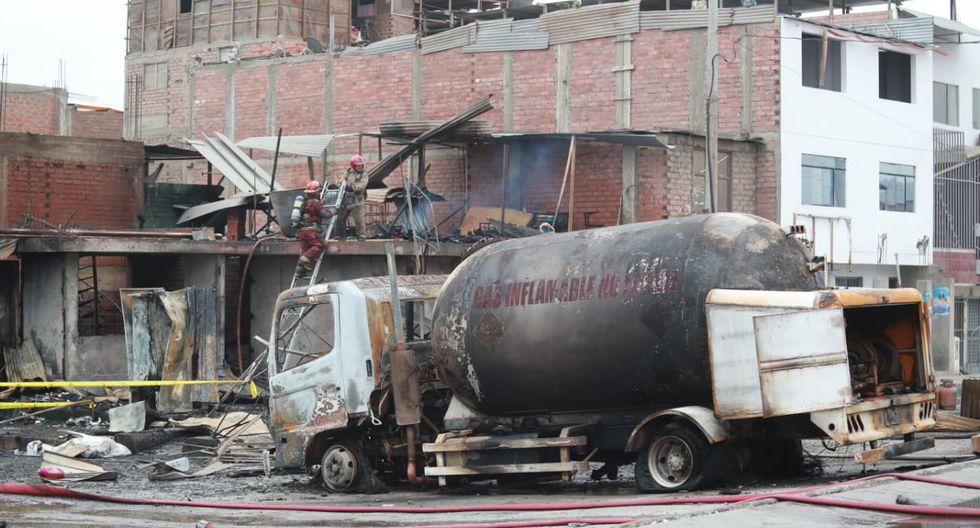 La magnitud de la fuga se produjo debido a que el vehículo se desplazaba con la válvula interna del tanque abierta, explicó Osinergmin.