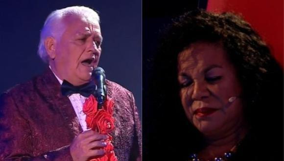 """Eva Ayllón se emocionó al escuchar el tema """"Cada domingo a las 12"""" en versión tango. (Foto: Captura de video)"""