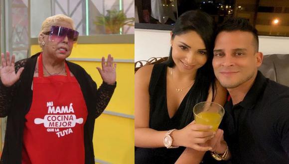 Lucía de la Cruz habló de la relación entre Christian Domínguez y Pamela Franco. (América TV/Instagram)