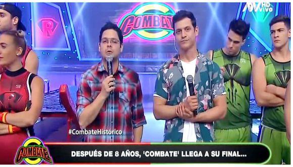 'Combate' se retira de la televisión peruana tras ocho años al aire (VIDEO)