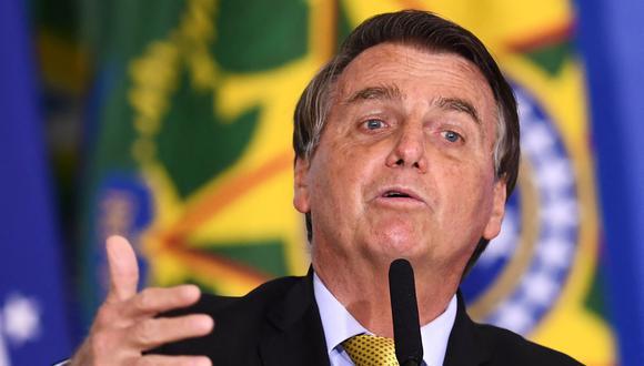 Jair Bolsonaro criticó el manejo de la pandemia del Gobierno de Argentina. (Foto: EVARISTO SA / AFP)