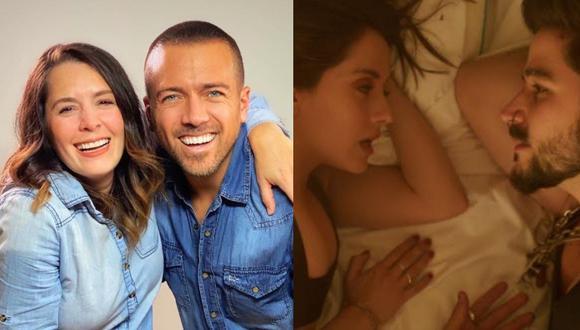 La pareja se animó a hacer una nueva versión del tema cantado por Camilo y Evaluna.