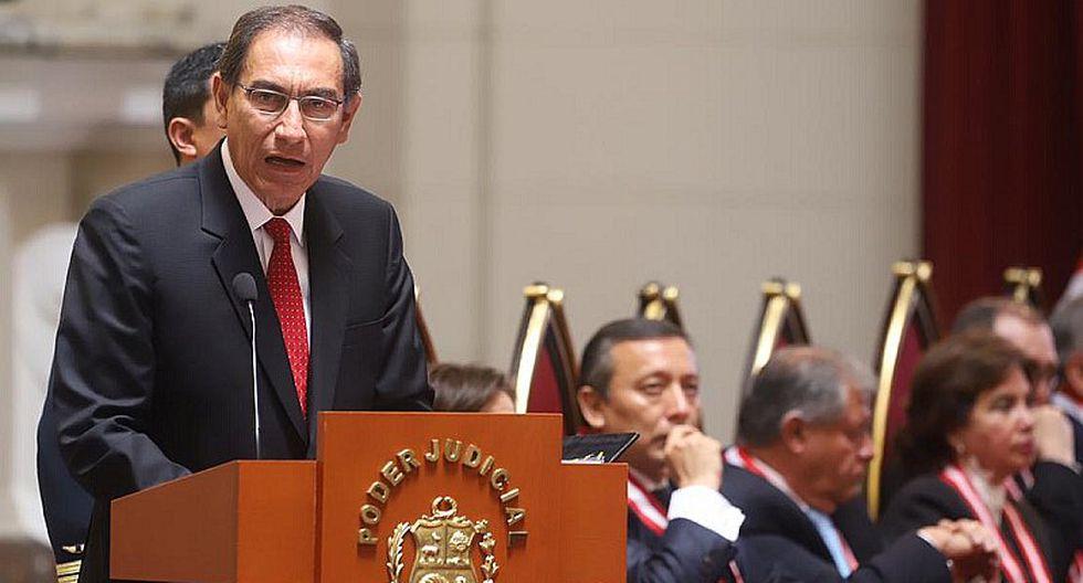 """Martín Vizcarra: """"El combate a la corrupción ha sido objeto de una embestida"""""""