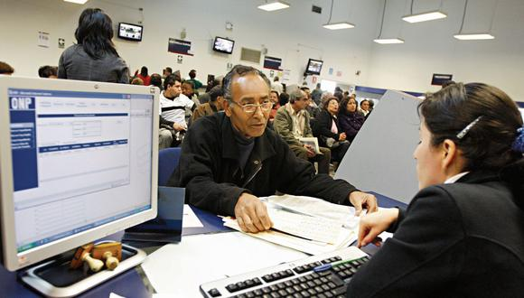 Congreso aprobó el proyecto de ley que dispone la devolución de hasta S/ 4.300 a los de la ONP. (Foto: GEC)