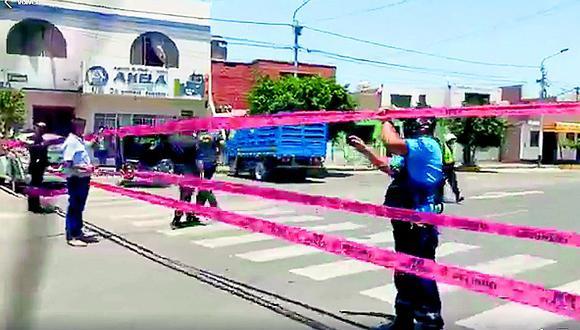 Policía cierra las principales calles de Casma por COVID-19