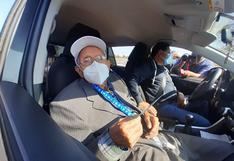 Anciano de 104 años recibió la primera vacuna contra el COVID-19 en Ica