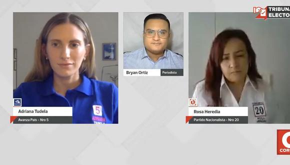 Tribuna Electoral por Diario Correo, todos los martes y jueves a las 3 de la tarde. | Foto: Captura de pantalla.