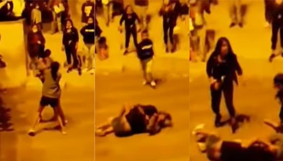 Violento enfrentamiento desató una concursante. (Captura: ATV)