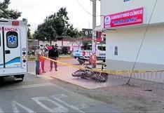 Asesinan a balazos a joven en la urbanización Garatea, Nuevo Chimbote
