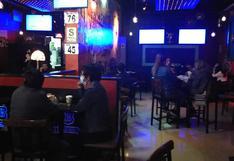 Intervienen a 38 personas en un bar que atendía a puertas cerradas en Junín (VIDEO)