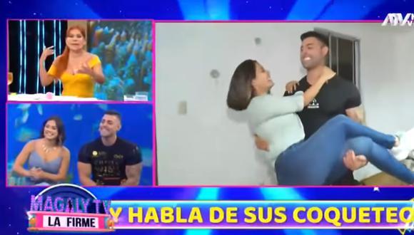 Sebastián y Andrea retomaron su relación. Captura: ATV