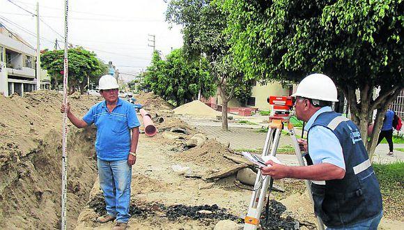 Renovarán las redes de desagüe en el cercado de Ica
