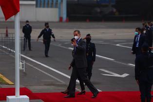 Rey de España, Felipe VI, arribó al Perú para participar en la toma de posesión del presidente electo, Pedro Castillo (VIDEO)