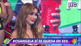 Rosángela Espinoza llora tras confirmarse su regreso a 'Esto es Guerra' (VIDEO)