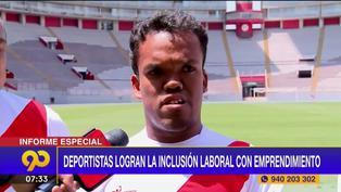 """Capitán de selección peruana de talla baja fundó emprendimiento para inserción laboral: """"Fui encontrando el camino"""" (VIDEO)"""