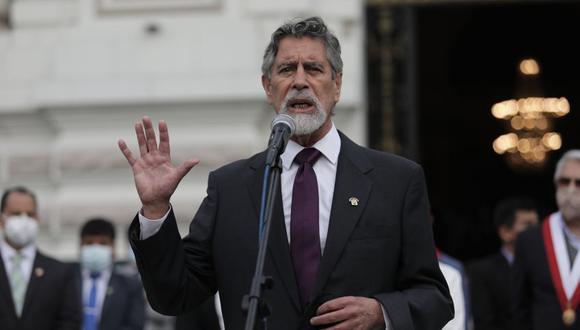Legislador del Partido Morado asume por sucesión constitucional la Presidencia de la República. (Foto: GEC)
