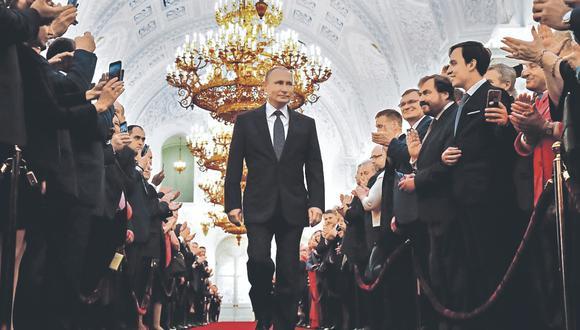 Con las modificaciones en la Constitución rusa, Vladimir Putin podría reelegirse por dos mandatos más de seis años cada uno. (Foto: AFP).