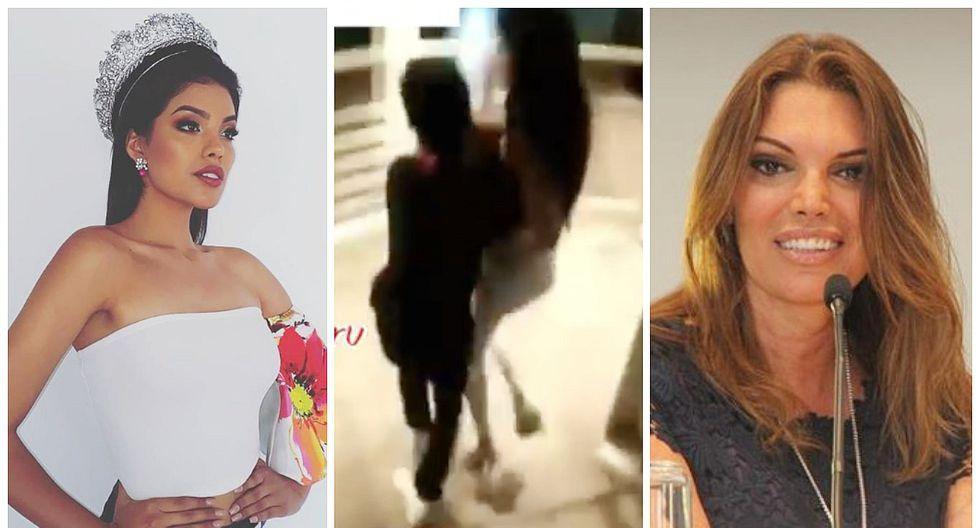 Miss Perú 2019 podría perder su corona tras ser captada en estado de ebriedad (VIDEO)
