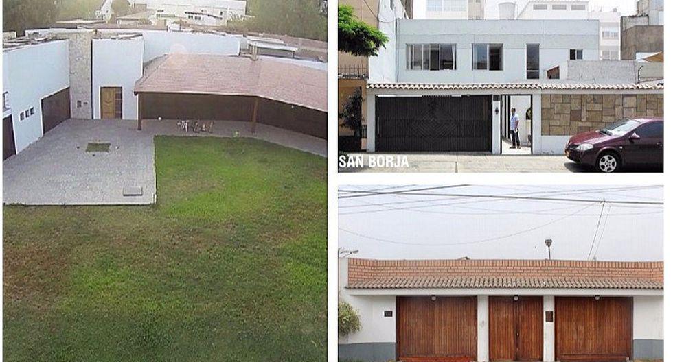 Subastarán 25 casas, departamentos, terrenos y locales incautados (FOTOS)