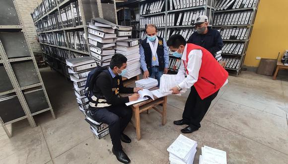 Ministerio Público no halló documentos referidos a licitación de carretera Toccto - Condorccocha