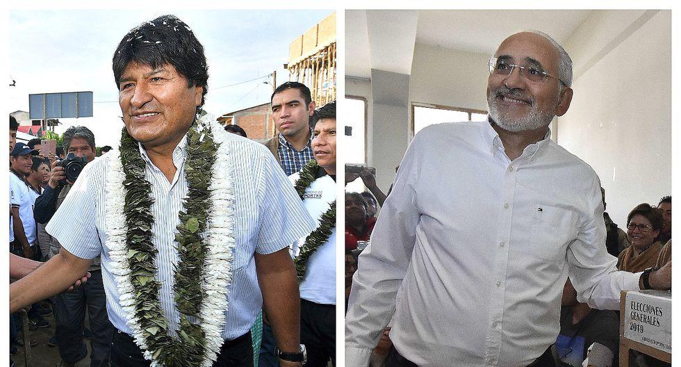 Bolivia: Evo Morales y Carlos Mesa irían a una segunda vuelta electoral