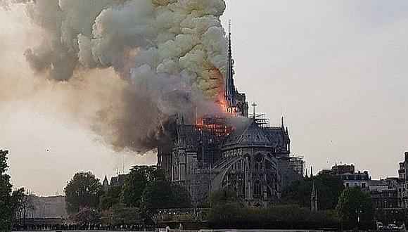 Incendio en Catedral de Notre Dame de París: El fuego fue controlado (FOTOS Y VIDEO)