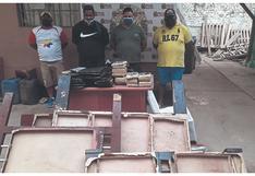 Caen 4 hombres con 27 kilos de droga en Tumbes