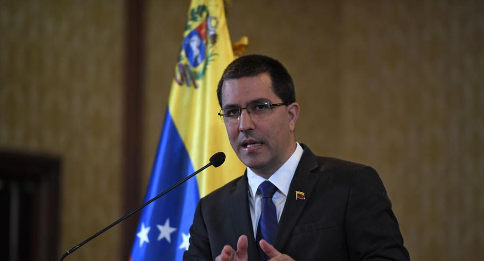 El canciller de Venezuela Jorge Arreaza. (Foto: Federico Parra / AFP).