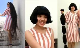 La 'Rapunzel de la vida real' cortó su cabello luego de 12 años