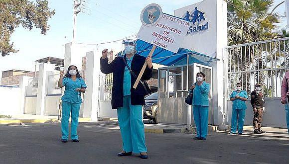 COVID-19: Un total de 44 contagios se han reportado entre enfermeros