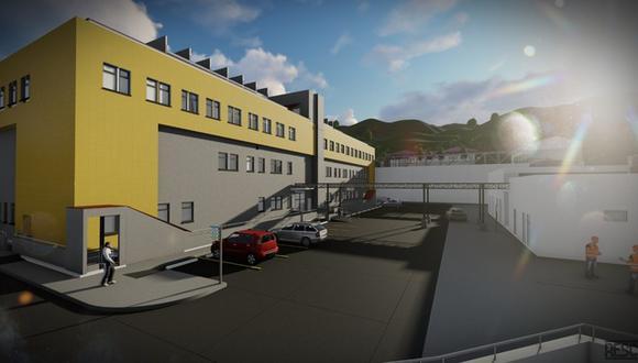 Áncash: El futuro nosocomio será de categoría II-1 y se construirá en un área de 10 963.28 m2. (Foto: Pronis)