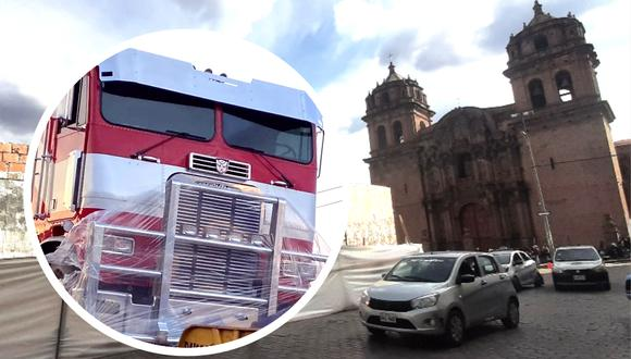 Transformers en Cusco. Foto: J. Sequeiros.