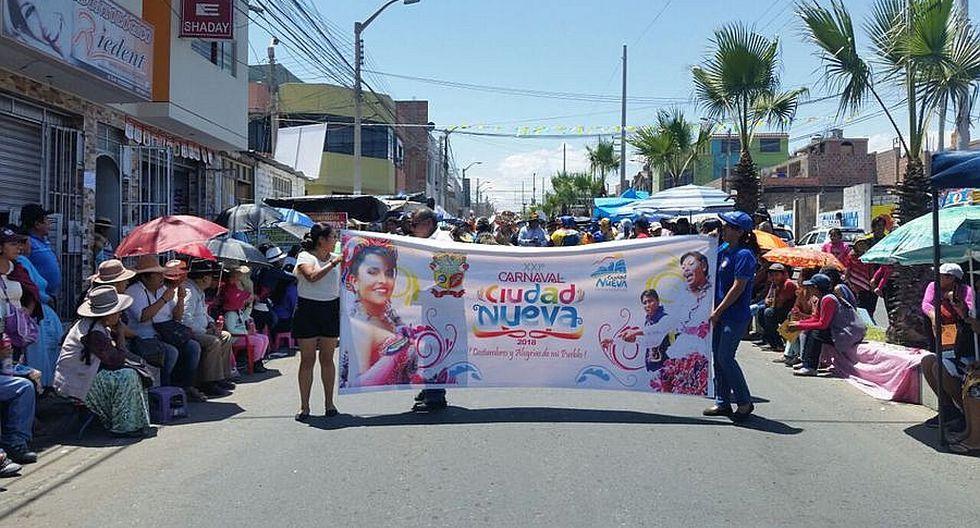 Ciudad Nueva suspende carnavales en solidaridad con afectados por lluvias