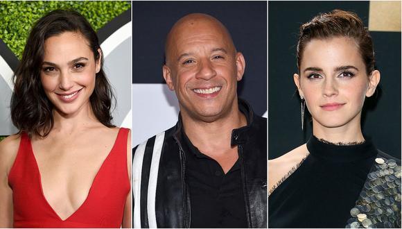 Los 10 actores más taquilleros del 2017, según Forbes