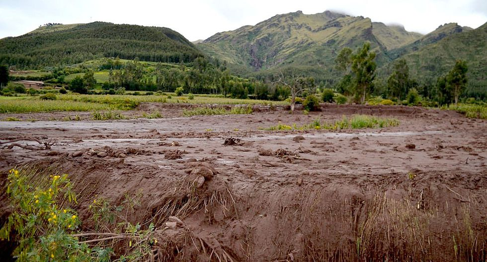 Cusco: Huaico en Anta arrasó con 21 hectáreas de cultivos (FOTOS)