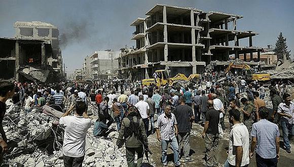 Siria: Al menos 34 muertos tras nueva ofensiva del Estado Islámico