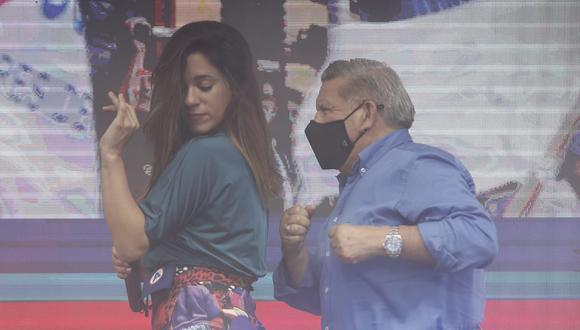 La candidata al Congreso, Vanessa Terkes, asegura que en un eventual gobierno de APP, César Acuña será el último en vacunarse.