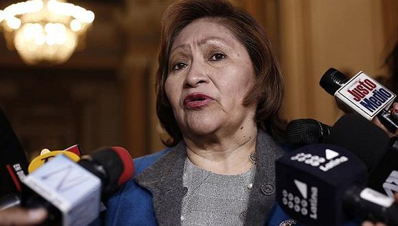 Ana María Choquehuanca negó que Martín Vizcarra presione al Congreso (VIDEO)