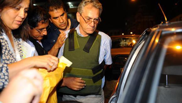 Movadef: Alfredo Crespo agradeció a Isaac Humala al salir de prisión