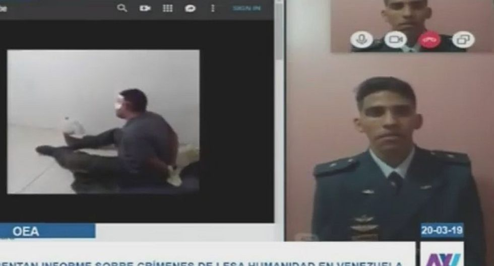 Ex funcionario venezolano denunció videos de las torturas en prisiones de Nicolás Maduro (VIDEO)