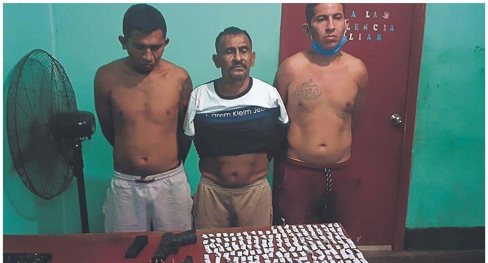 "Tumbes: Capturan a tres sujetos de la banda ""El Tropezón"""