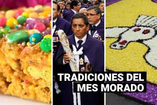 Mes Morado: costumbres que forman parte de la celebración del Señor de los Milagros