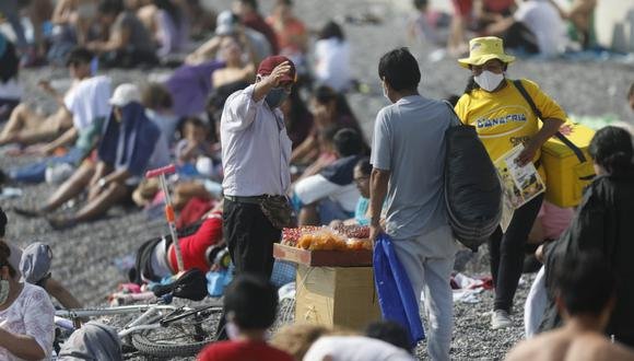 Alcaldes consideran importante tomar medidas sobre el manejo de las playas en la coyuntura actual y ante una potencial segunda ola de la pandemia del coronavirus (@photo.gec)