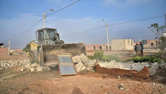 MPT recuperó terreno de 2,000 m2 destinado al aporte comunal de vías