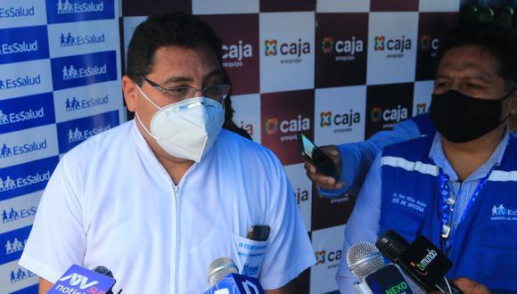 Edilberto Salazar deja el cargo de gerente de la Red Asistencial desde febrero| Foto: Eduardo Barreda
