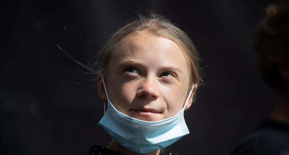 Imagen de Greta Thunberg. (Hayoung Jeon / EFE).