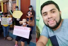 Tacna: Familiares de trabajador edil detenido por no usar mascarilla y hallado muerto en comisaría exigen investigación