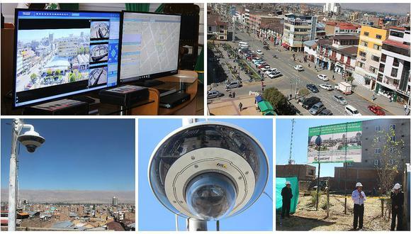 Huancayo: instalarán 50 cámaras de seguridad y construirán central de monitoreo