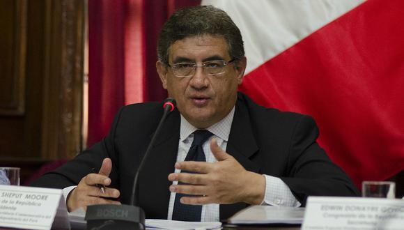 """Juan Sheput pide a la Comisión de Fiscalización no realizar """"un show""""en Palacio de Gobierno"""